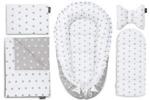 Sleepyhead-Baby-Nest-5-Elements-Baby-Cushion-Grey-Stars-Pod-Baby-Pod