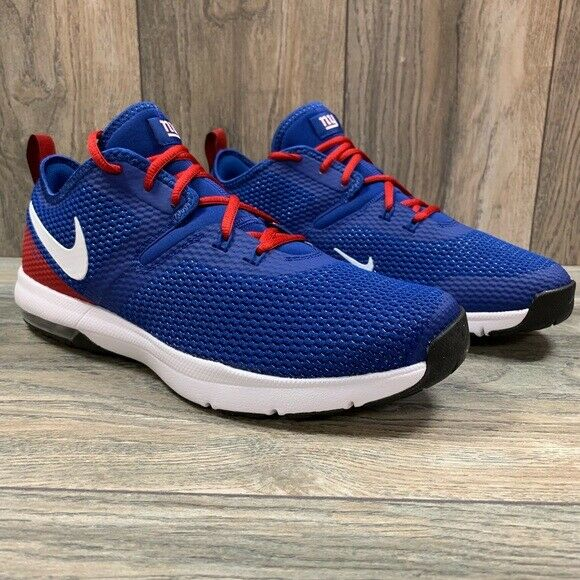 NEW Nike Air Max Typha 2 NFL shoes MENS Size 9 New York Giants blueee AR0512 400