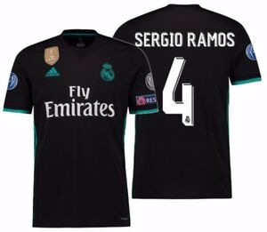 ee02b3aba Image is loading ADIDAS-SERGIO-RAMOS-REAL-MADRID-UEFA-CHAMPIONS-LEAGUE-