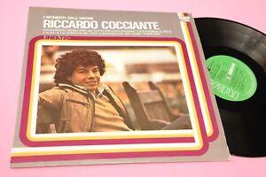 RICCARDO-COCCIANTE-LP-I-MOMENTI-DELL-039-AMORE-MAGHERITA-L-039-ALBA-1978-MINT