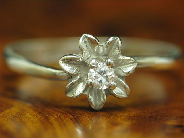 925 STERLING silver RING MIT ZIRKONIA BESATZ   ECHTsilver   1,4g   RG 54