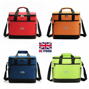 Image Is Loading Uk Large Lunch Insulated Cooler Cool Bag Outdoor