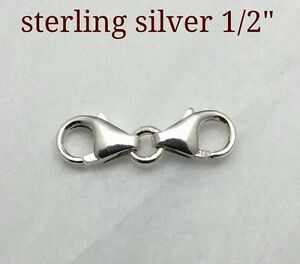 Image Is Loading 1 2 034 925 Sterling Silver Small Extender