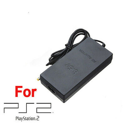 Slim AC Adapter Charger Cord Power Supply Cable for Sony PS2 PlayStation 2 Slim