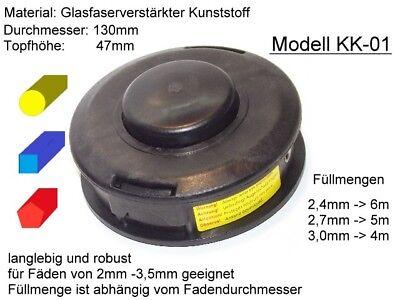 018 M10x1,25LH  Motorsense Freischneider Trimmer Fadenkopf Kopfschrauben-Set