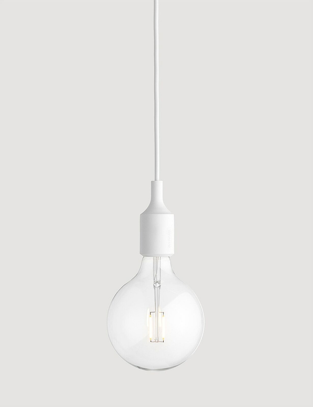 MUUTO E27 Pendant Lamp Weiss 05285 LED Pendelleuchte