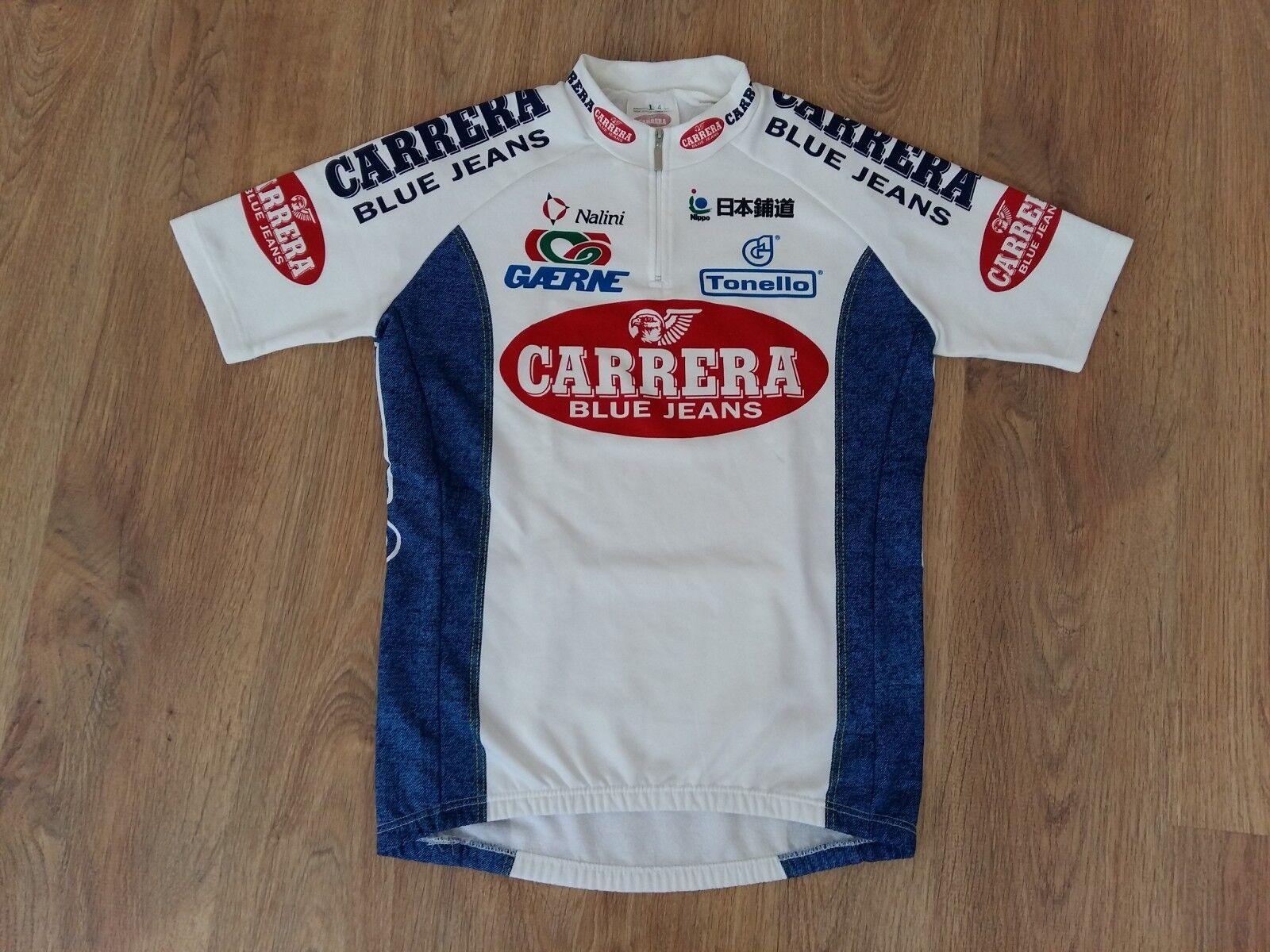Carrera Jeans Nalini rare vintage cycling jersey size 4 (L)