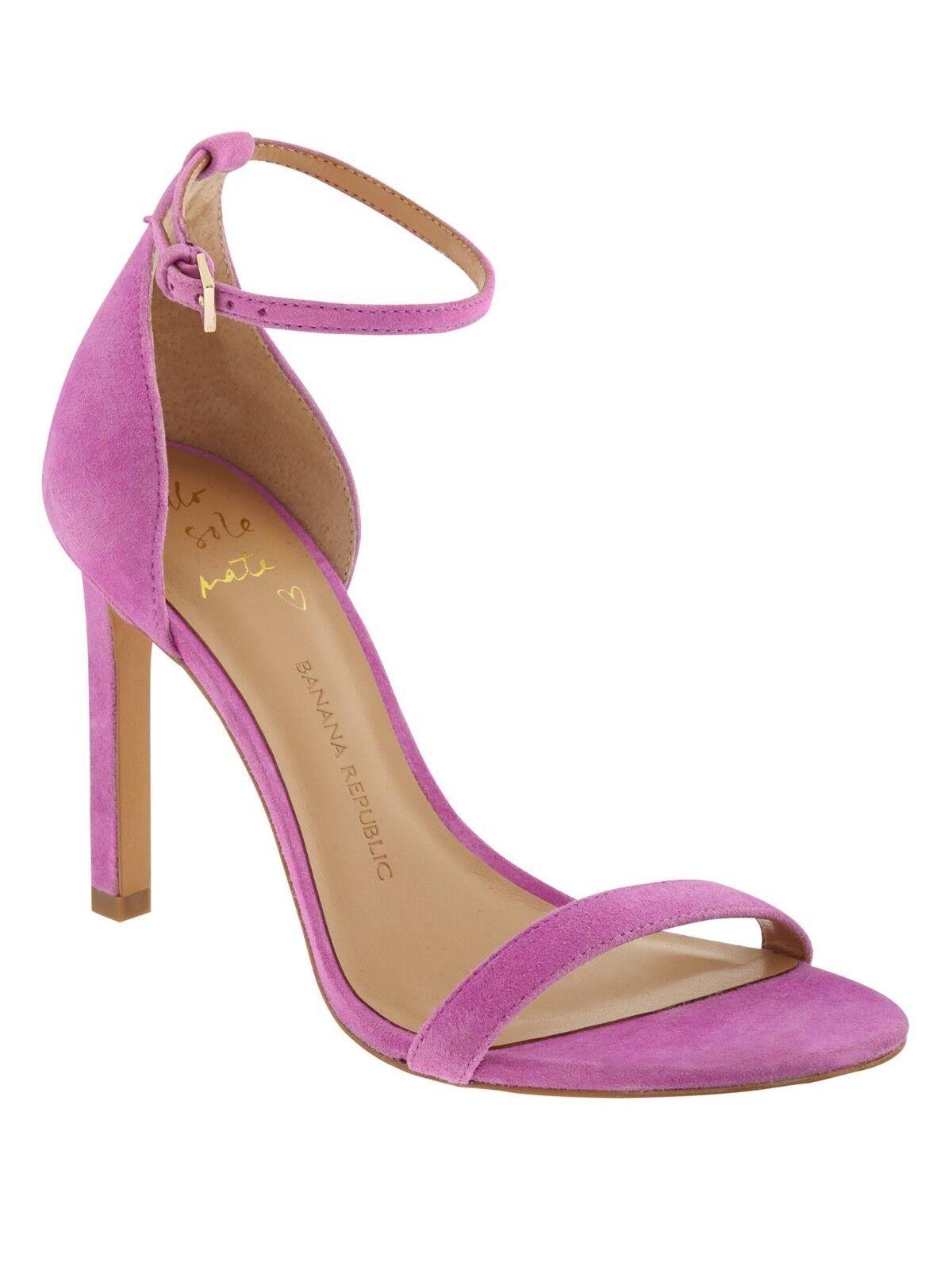 Banana Republic HOLLAND à talon sandale, Neon Violet Taille 8 M  183486