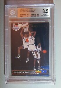 1992-93 Upper Deck #1 Shaquille O'Neal SP RC BGS 8.5