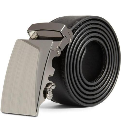 Belt Deluxe Mens Leather Automatic Buckle Business Waist Strap Belt Waistband