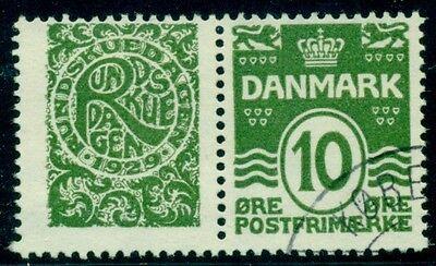 Dänemark re28 10ore Grün Rundskuedagen 1929 Paar Gebraucht Supplement Die Vitalenergie Und NäHren Yin