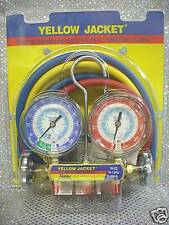Yellow Jacket Gauge Set R22 R134a R404a With60 Hoses Model 42006