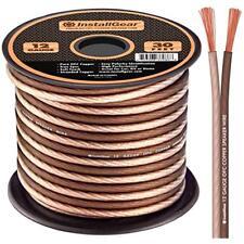OFC 99.9/% Oxygen-Free Copper InstallGear 4 Gauge Red 25ft Power//Ground Wire