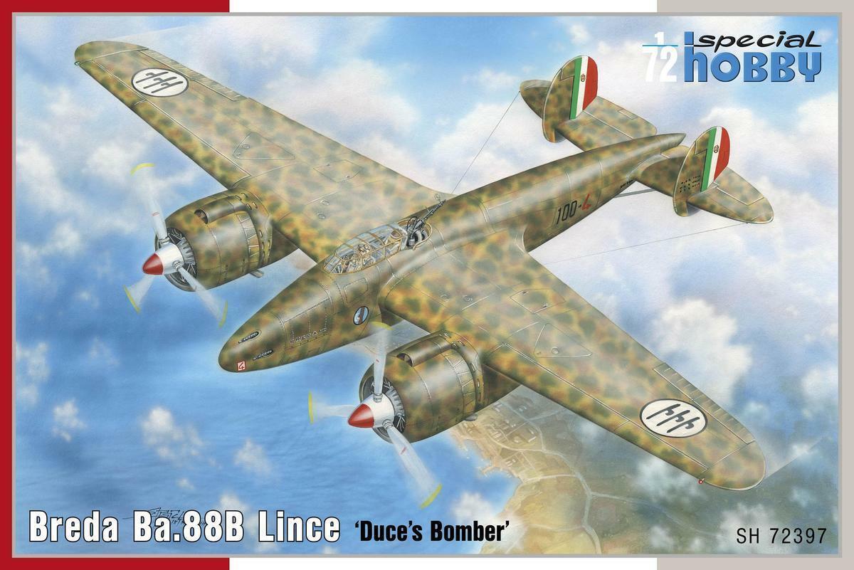 Special Hobby 1 72 Breda Breda Breda Ba.88b Lince   Duce's Bomber   0b4130