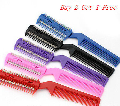 New Style Hairdressing Thinning Trimmer Professional Scissor DIY Hair Razor Comb