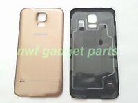 Original Samsung Galaxy S5 Battery Back Cover W/nfc For Sprint/tmobile Gold