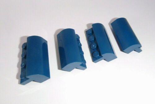 Lego in dunkelblau aus 60093 6081 4 Bogensteine 2x4x1 1//3