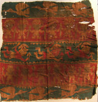 Pre Columbian Chimu Painted Textile