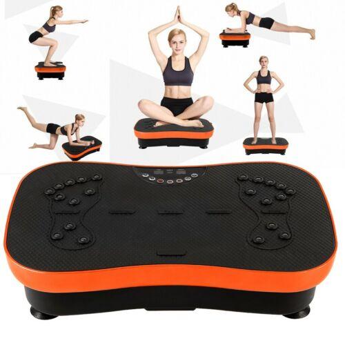 Full Body Vibration Platform Ultra Slim Exercise Plate Fit Machine Power Shaper