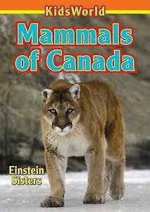 Mammals-of-Canada-Paperback-by-Einstein-Tamara-Brand-New-Free-P-amp-P-in-the-UK