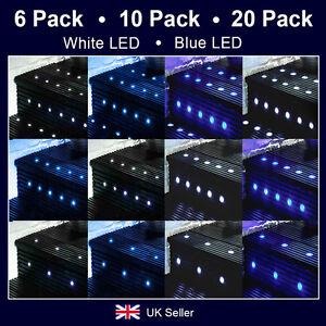 6 10 20 x minisun led decking light kits outdoor garden for Garden decking lights uk