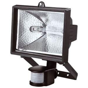150 /500 WATT PIR Motion Sensor Outdoor Garden Security Halogen Floodlight New