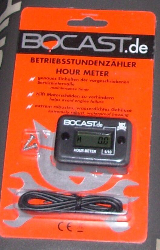 BOCAST Drehzahlmesser für KTM SX F EXC SX-F SM Betriebsstundenzähler orange