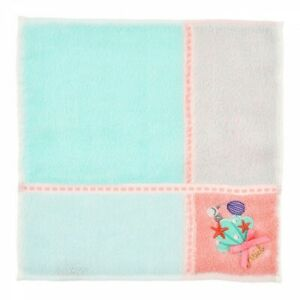New Disney Store Japan Ariel /& Flounder Mini Towel Summer Holiday