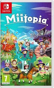 MIITOPIA NINTENDO SWITCH VIDEOGIOCO ITALIANO NUOVO GIOCO SIGILLATO MILITOPIA ITA