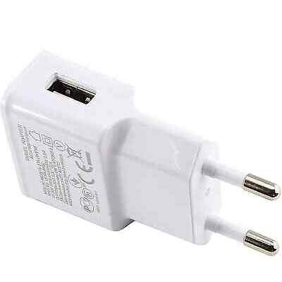 CARGADOR DE PARED USB 2A CORRIENTE CABLE MICRO USB UNIVERSAL PARA TABLET MOVIL