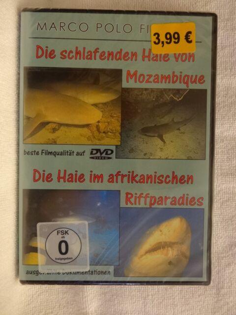 Die schlafenden Haie von Mozambique, DVD, NEU, OVP, Natur hautnah erleben