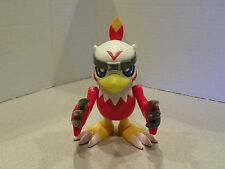 Rare BANDAI DIGIMON 2000 TALKING HAWKMON Complete! Works! almost 6 inches tall
