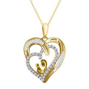 14K WHITE GOLD FN 925 STERLING SILVER DEVIL HEART SHAPE PENDANTS VALENTINE GIFT