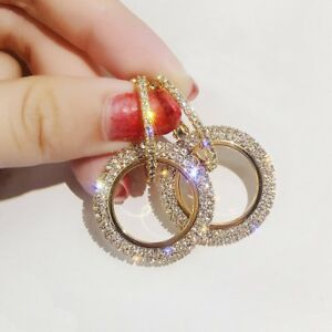 Fashion-Luxury-Round-Earrings-Women-Crystal-Geometric-Hoop-Earrings-Jewelry-Gift