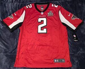 Details about Matt Ryan Super Bowl LI 51 Patch Nike Red Game Jersey Falcons DISCONTINUED XL,2X