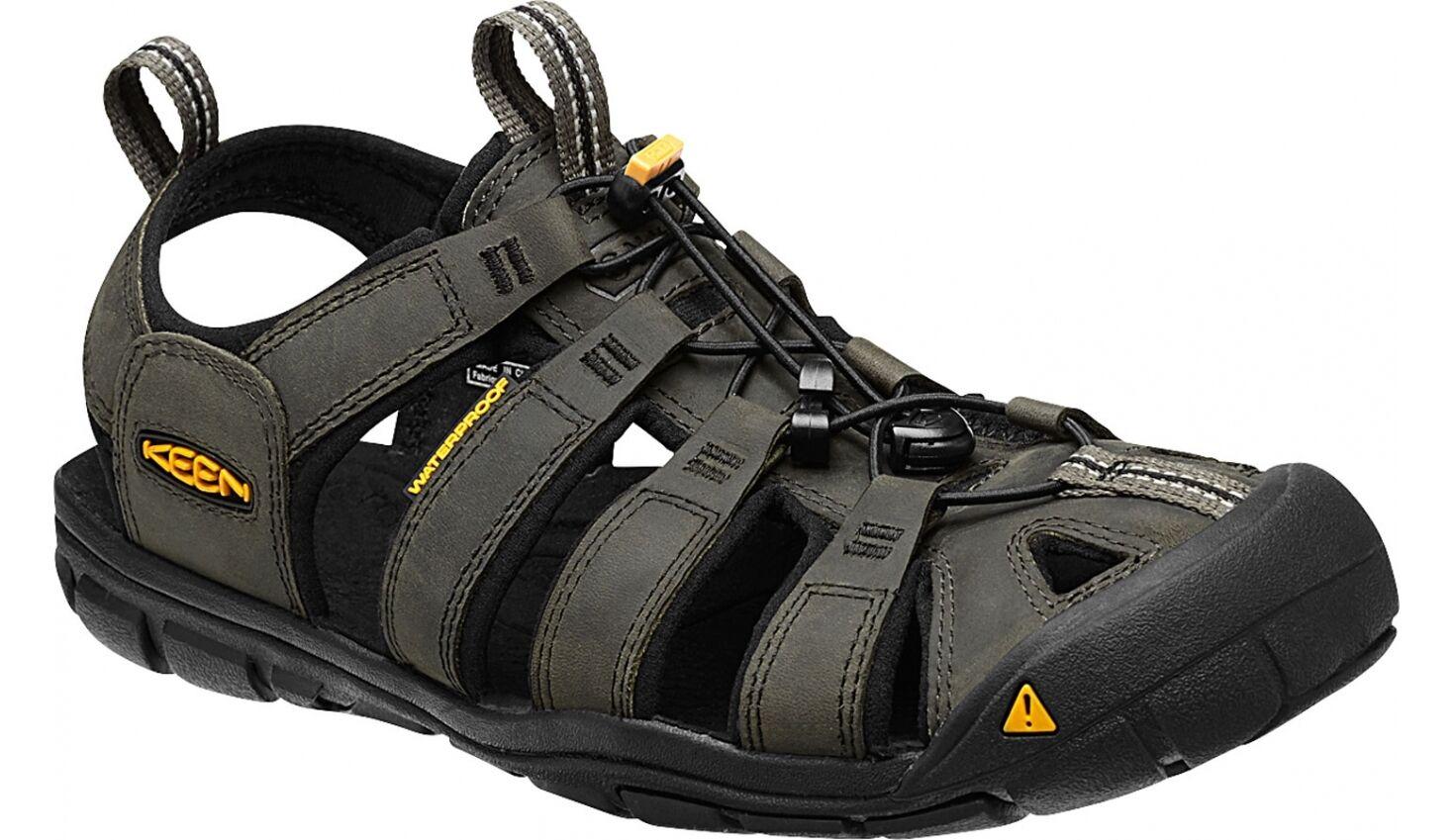 Keen ClearAgua cuero señores Al aire libre trekking senderismo  sandalia impermeable leer     ordene ahora los precios más bajos