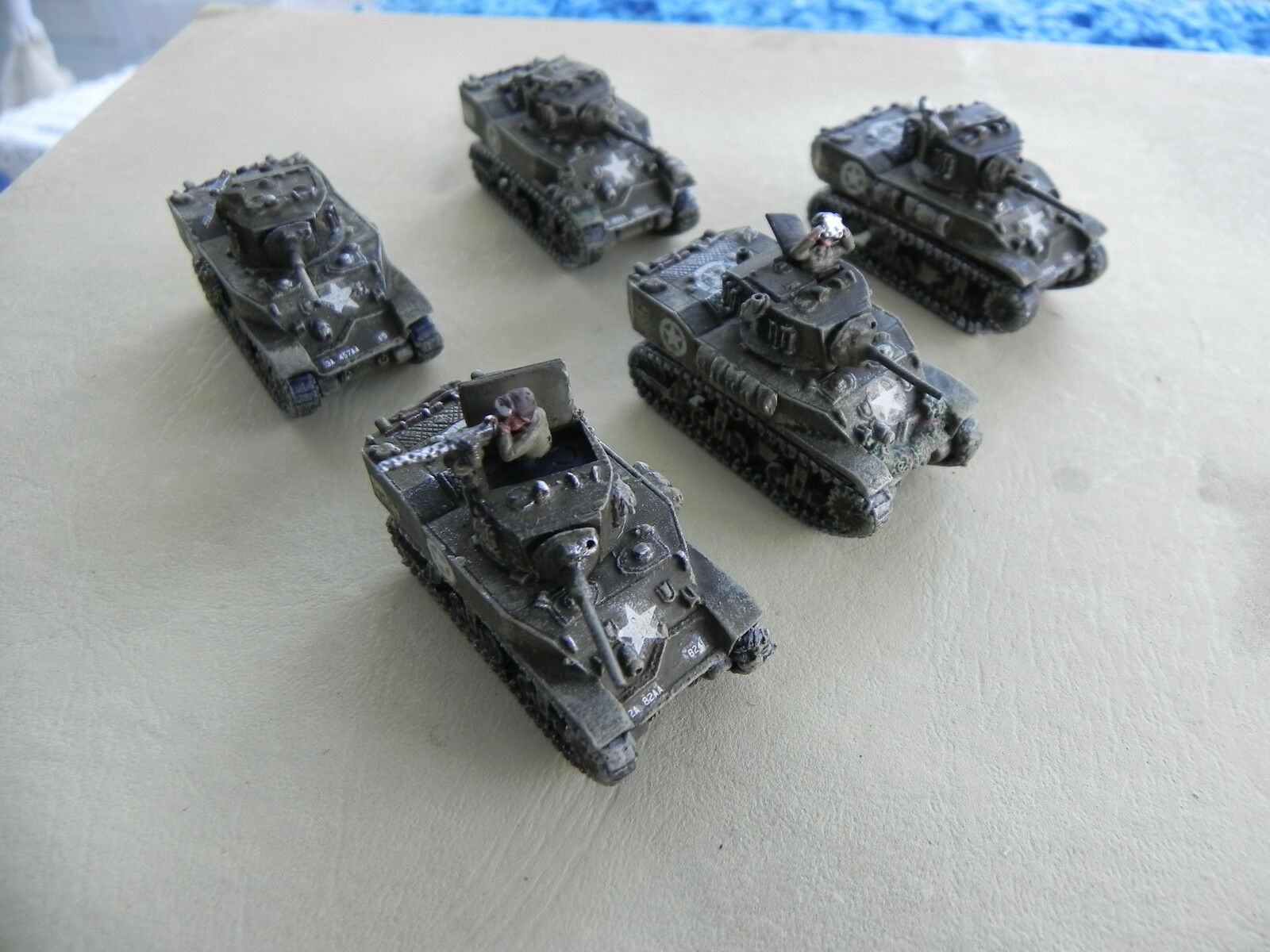 Flames of War nos M5a1 Stuart Platoon