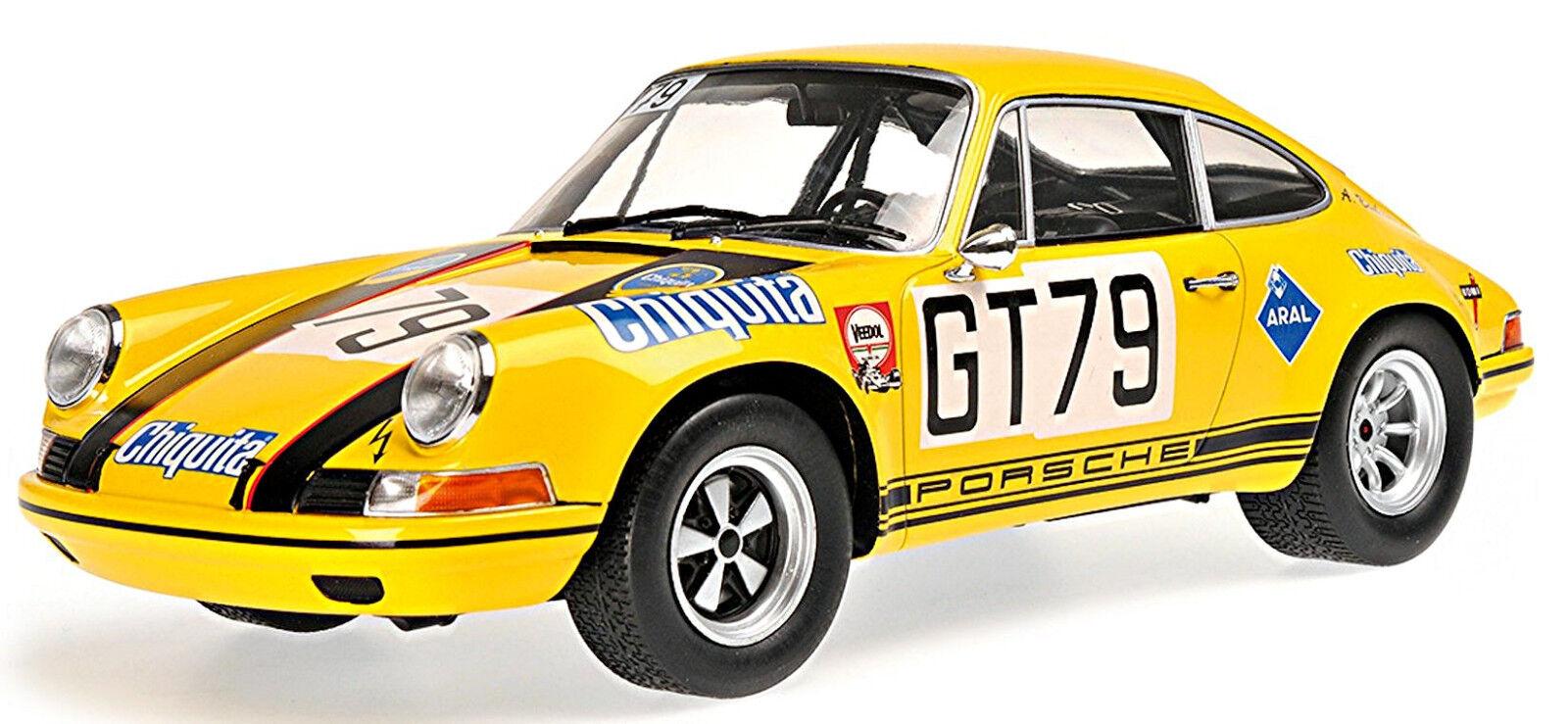 marcas de moda Porsche 911 s Racing Team AAW class class class winner 1970  79 alegre Toivonen 1 18 minic  mejor calidad