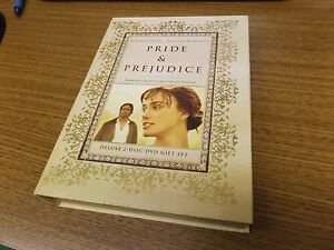 Pride-amp-Prejudice-Deluxe-2-Disc-DVD-Gift-Set-Joe-Wright-Great-Condition