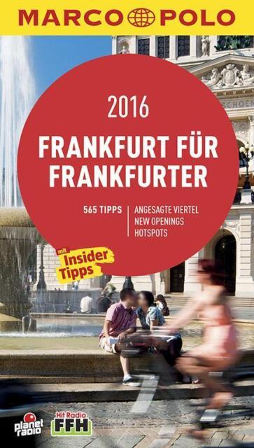 MARCO POLO Cityguide Frankfurt für Frankfurter 2016