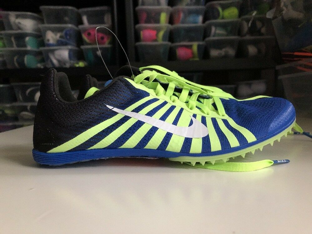 Nike Zoom D Distance Track Spikes Mens 5 / Womens 6.5 819164 413 Hyper Blue