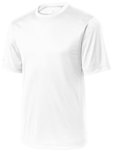 REFLECTIVE SHORT SLEEVE BREATHABLE S-4XL MEN/'S WICKING PERFORMANCE T-SHIRT