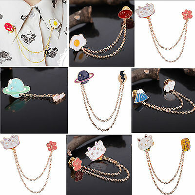 Fashion Vintage Women Girl Lovely Cute Collar Pin Badge Corsage Brooch 6 Style