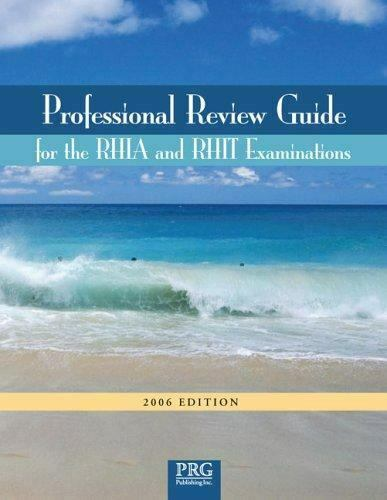 Professional Review Guide for RHIA and RHIT Examiations ...