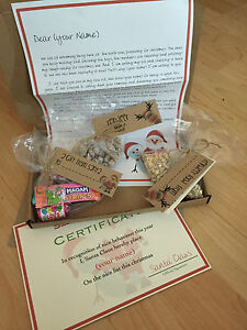 Santa personalised christmas eve box reindeer food sweets letter image is loading santa personalised christmas eve box reindeer food sweets spiritdancerdesigns Image collections