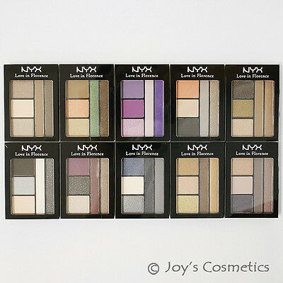 "3 NYX Love in Florence eye shadow palette ""Pick Your 3 Color"" *Joy's cosmetics*"
