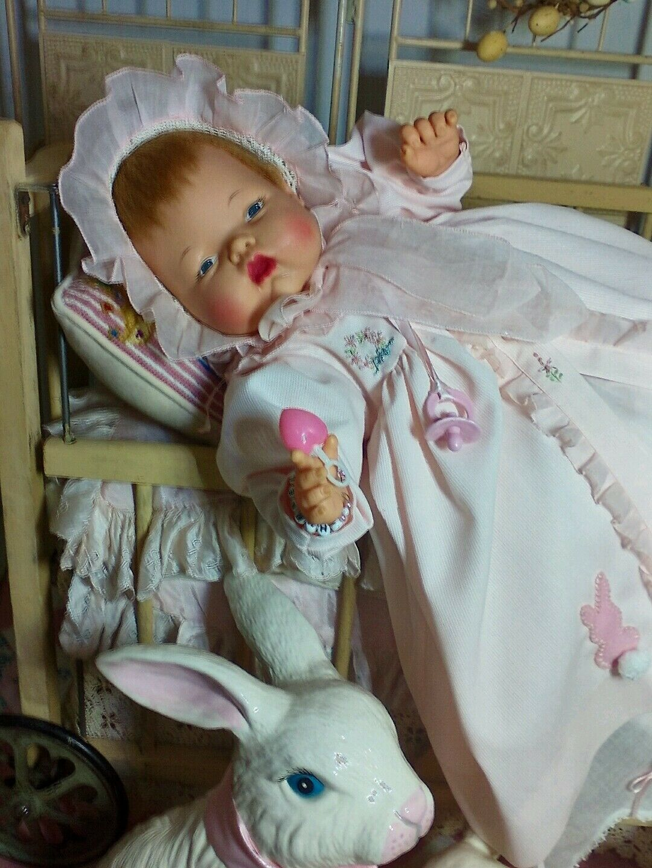 Vintage Muñeca Bebé Grande Ideal Pulgarcita con uno de un tipo de ropa