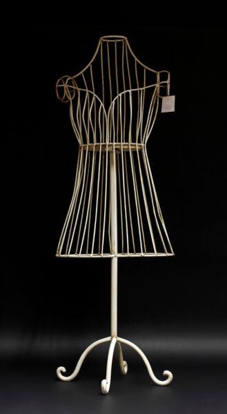 à Condition De 9977333 Vêtements Enfant Mannequin Métal Blanc Shabby Chic H90cm Grandes VariéTéS