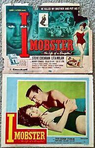 1958 I-Mobster The Life Of A Gangster Film Lobby Carte (2) - Steve Cochran VAhFc3FC-08063301-771446002