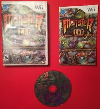MONSTER LAB FOR THE WII!!! PLAYS GREAT FREE S&H!!